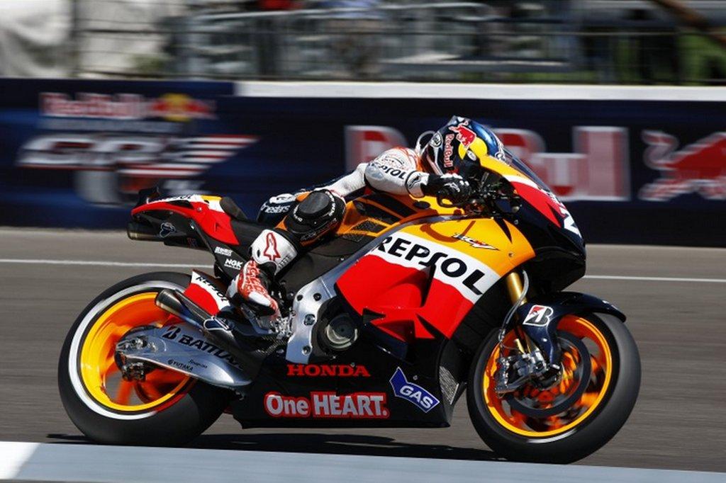 MotoGP אינדיאנאפוליס – התוצאות