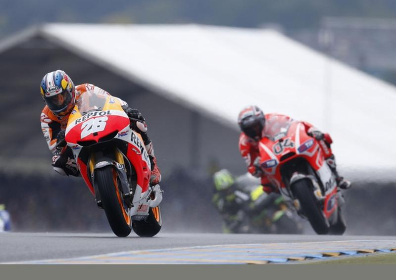 MotoGP צרפת – סערה בלה-מאן