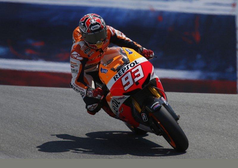 MotoGP לגונה סקה – מארקז דוהר קדימה