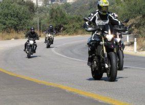 אפריליה: מועדון הרוכבים בטיול ראשון אל הרי ירושלים