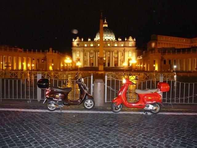 ברומא רוכבים כמו רומאים