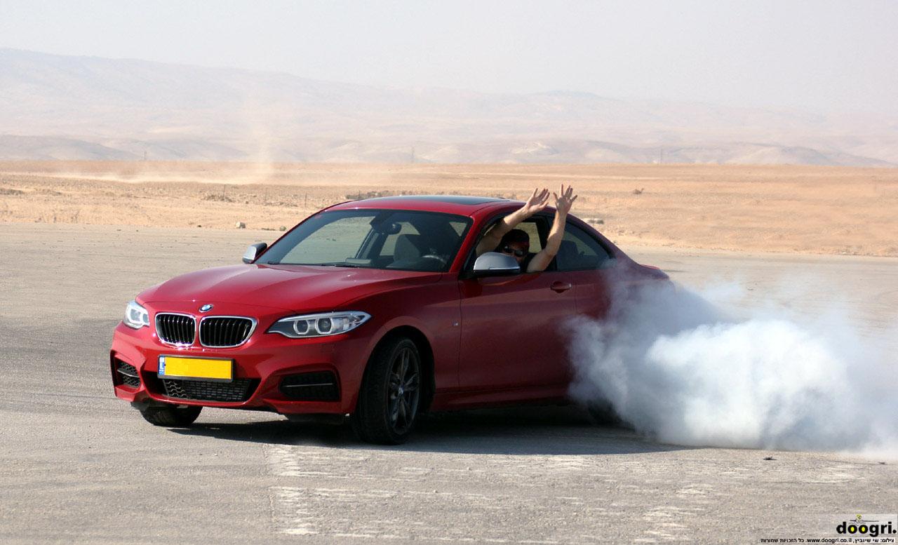 Mבחן דרכים. לא של הרכב, של הנהג / ב.מ.וו 235M במבחן דרכים בוידאו