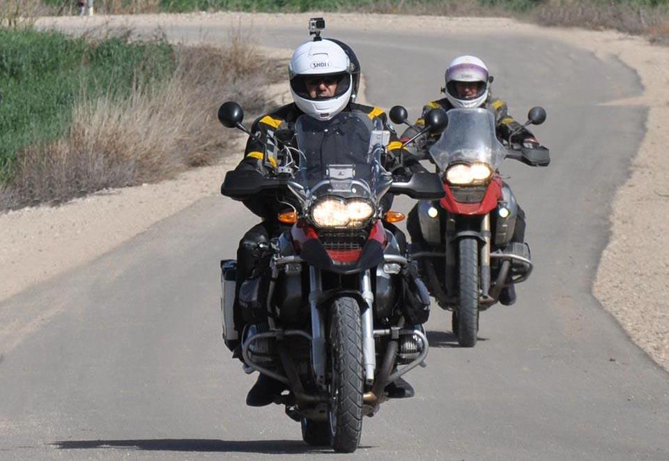 מועדון האופנועים הישראלי נצבע באדום עם הדרום