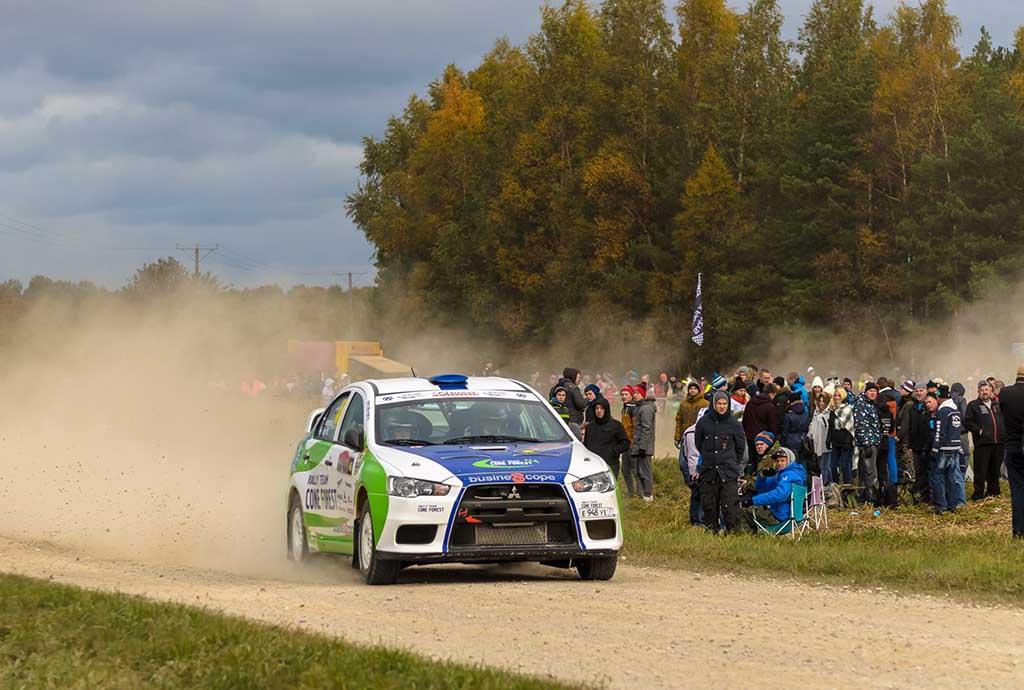 דניס ומריה מסיימים את אליפות אסטוניה 2015