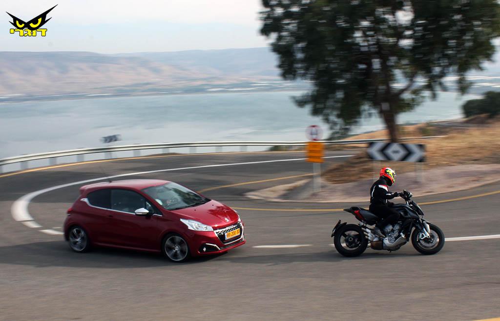 אספרסו לנפש – אופנוע פסיכי, או רכב ספורטיבי?
