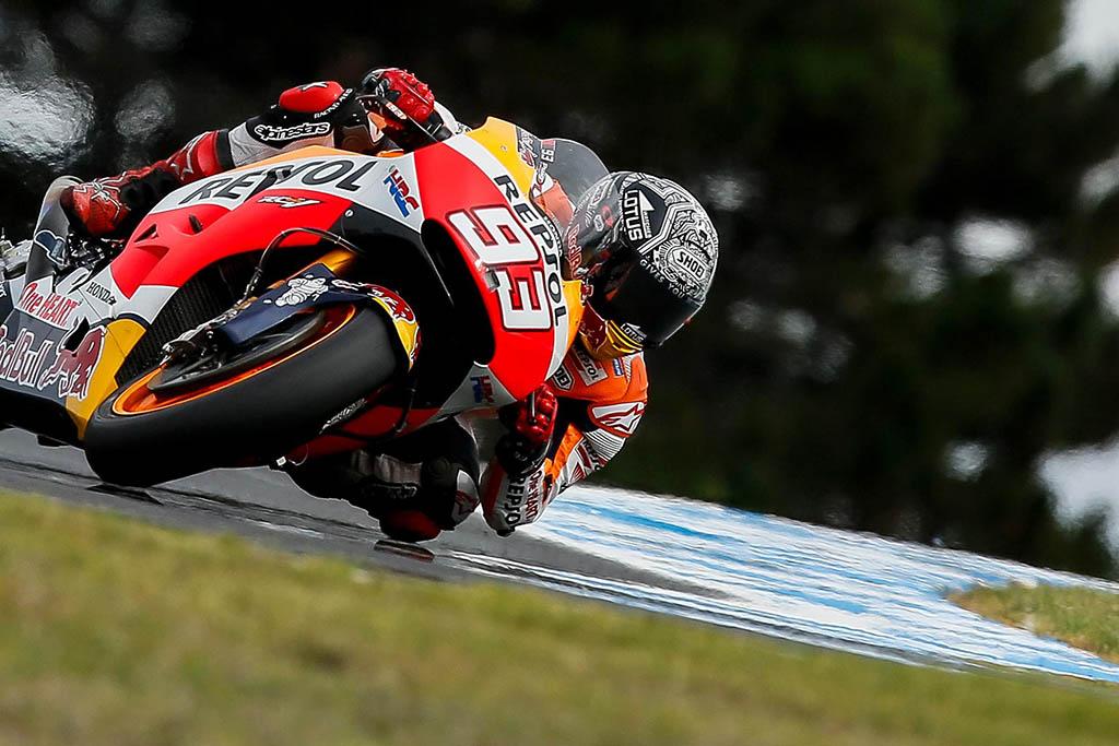 מוטו GP מבחנים: מארקז המהיר ביום האחרון בפיליפ איילנד