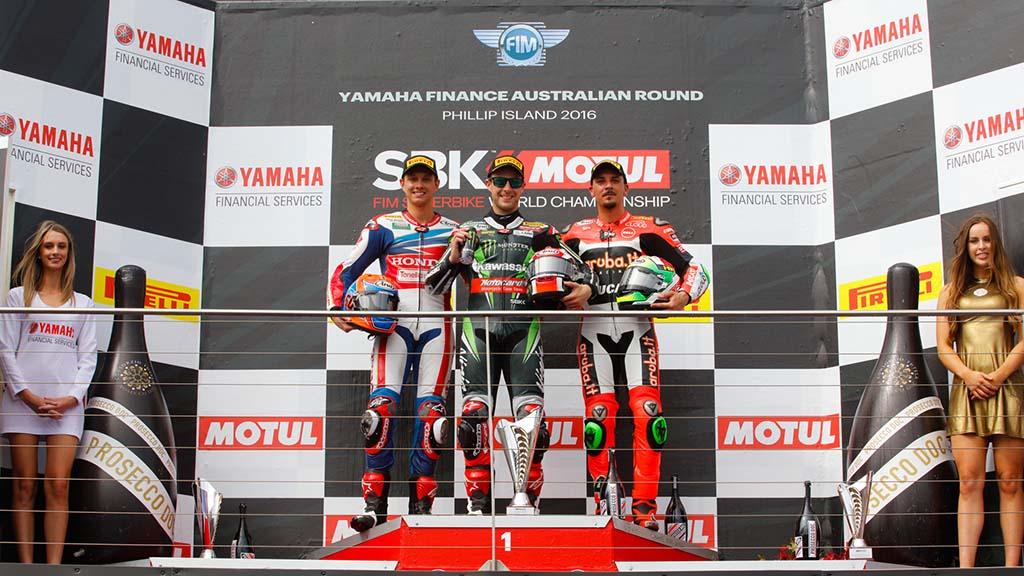 WSBK סופרבייק אוסטרליה: ריי וקאוואסאקי בניצחון דרמטי במירוץ 2