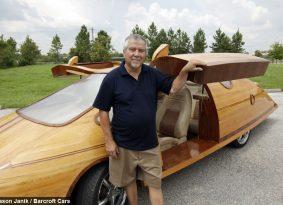 פרוייקטים: מכוניות העץ של איזק