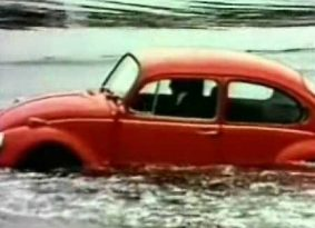 האם הרכב שלכם צף? חיפושית מודל 72 כן