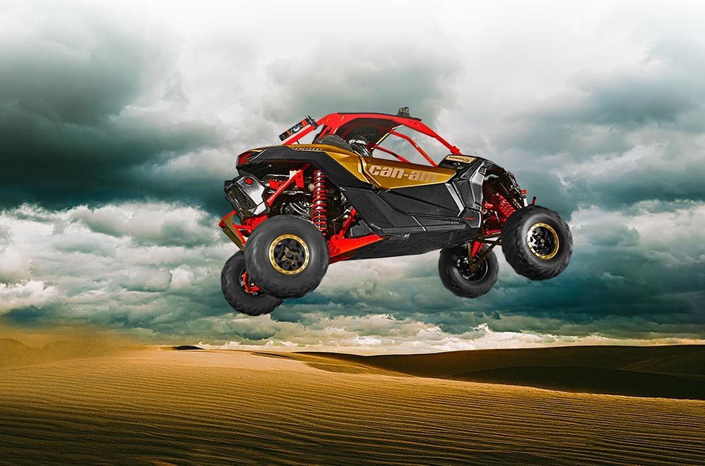 השקה עולמית- Can Am Maverick X3