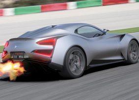 Im a titanium – מכונית העל היחידה בעולם מטיטניום מוצעת למכירה