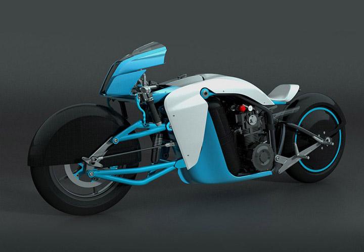 האופנוע של סאלין אייר סטרים – זה מה שנקנה כשיאזל הנפט בעולם