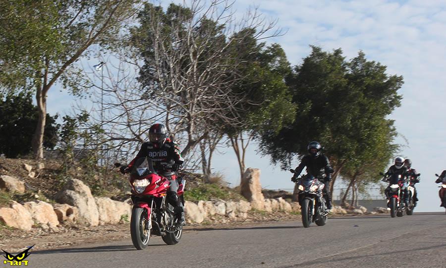 מדור פרסומי: טיול מפנק אל הכנרת ללא עלות עבור רוכבי אופנועי Aprilia