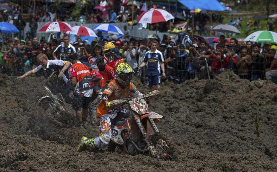 MX GP אינדונזיה: מוטוקרוס או היאבקות בוץ?