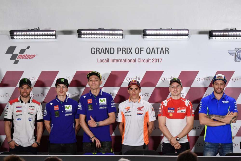 מוטו GP: סקירת ענק של עונת 2017 הנפתחת בקטאר בחמישי בערב