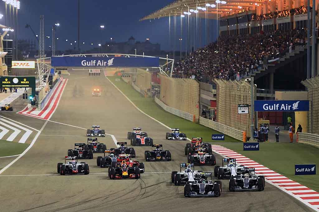 F1: וטל קוטף ניצחון בבחריין