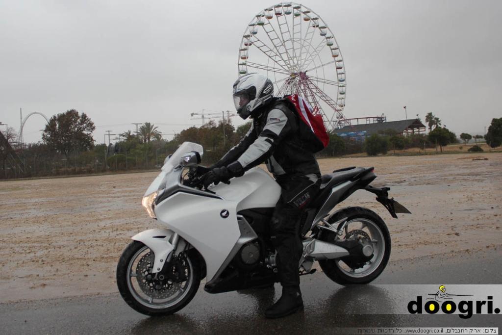 מקטנוע לאופנוע – הונדה VFR1200