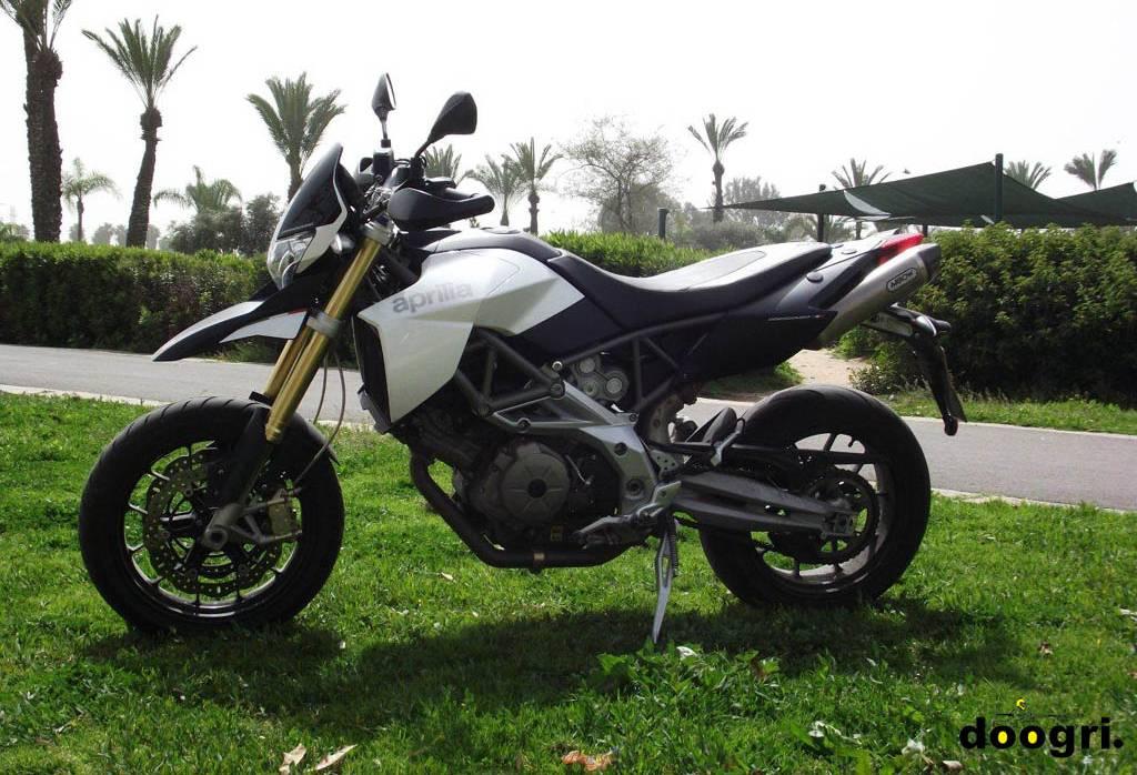 מקטנוע לאופנוע – אפריליה דורסודורו 750