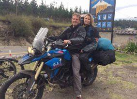 הרי האנדים ועוד על אופנוע