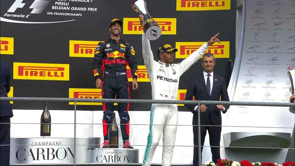 F1: המילטון משיב מלחמה בקרב על האליפות