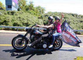 אופנועני הארלי דוידסון עושים הסברה למניעת סרטן השד