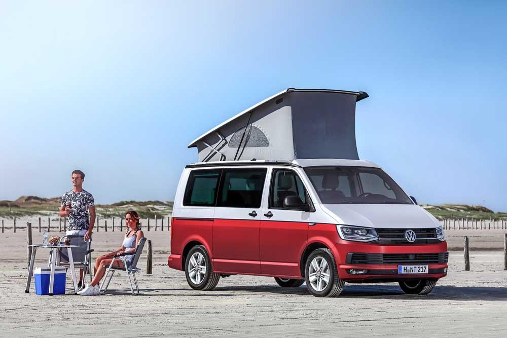 לראשונה בישראל VW California קאמפר מאובזר לטיולים מיוחדים