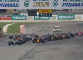 F1: ורשטפן חוגג 20 במרוץ אחרון באדמת מלזיה