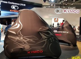 "EICMA: קימקו מציגה קונספט קטנועים ""טרנספורמרים"""