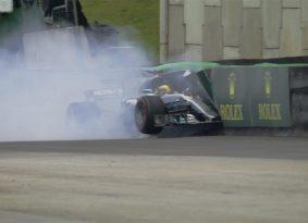 F1 ברזיל גריד: ב-38 מאיות השניה, בוטס לוקח את העמדה הבכירה