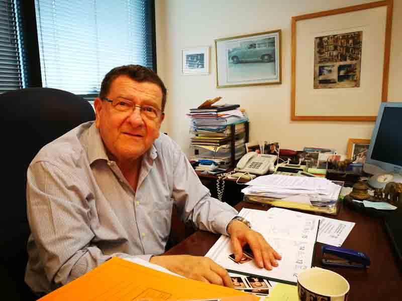 """אברהם פורז – יו""""ר ההתאחדות הישראלית למכוניות וקארטינג"""