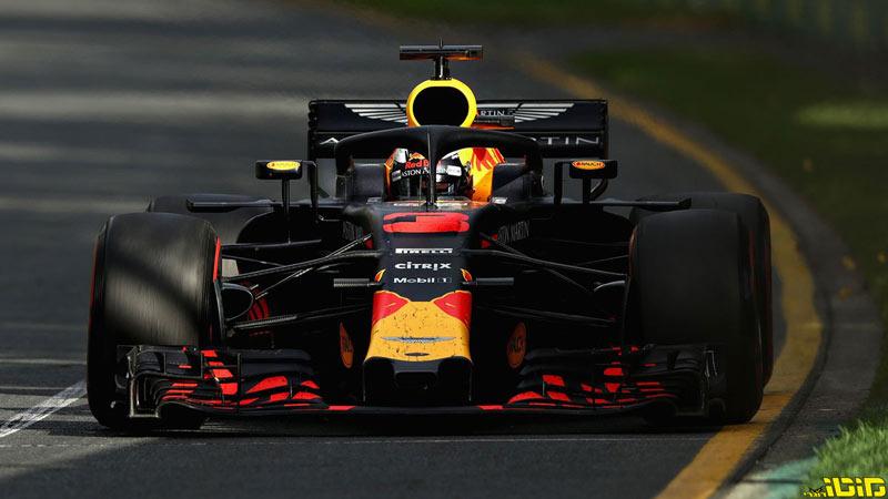 F1: אלילת המזל נצבעה אדום באוסטרליה