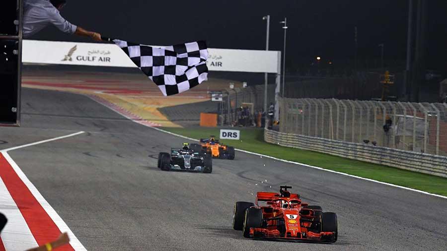 F1 בחריין, וטל מנצח עם צמיגים גמורים במרוץ ה-200 שלו
