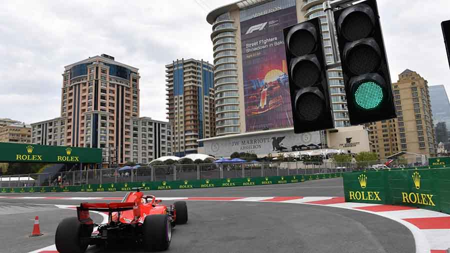 F1 איזרבג'אן, גריד:  וטל בפעם השלישית