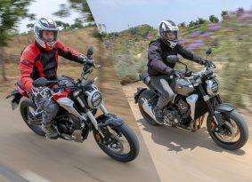 רכיבה ראשונה: הונדה CB300R ו-CB1000R