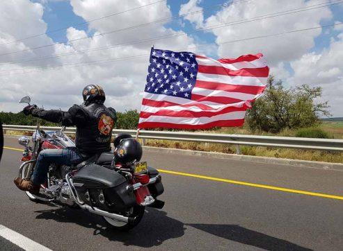 עושים היסטוריה: הארלי דוידסון, 'רוכבי שמשון' והדגל האמריקאי