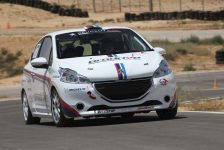 peugeot 208 racing cuppress launching event