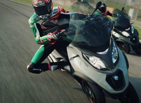 וידאו: רוכבי המוטו GP של אפריליה במוג'לו – על MP3