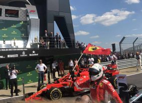 F1 אנגליה: במותחן הכי טוב של השנה וטל יוצא כשידו על העליונה