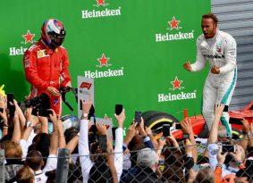 F1 איטליה: המילטון עושה בית ספר לאדומים