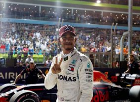 F1 סינגפור דרוג: אף אחד לא מהיר כמו המילטון