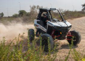 מוטו פאן בוחן | פולריס RZR RS1 – סייד-ביי-פאן \ Side By Fun