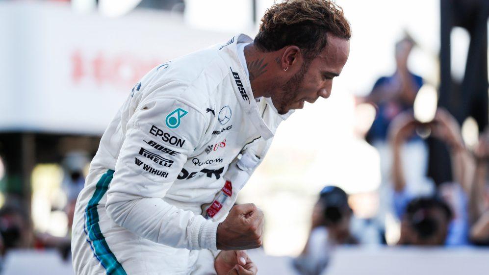 F1 יפן: המילטון עושה עוד צעד גדול בדרך לאליפות חמישית