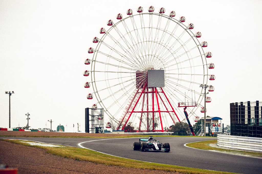 F1 גריד יפן: המילטון יזנק ראשון, שוב
