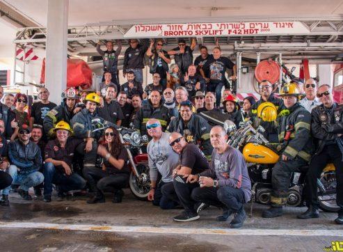 הארלי דיוידסון ולוחמי האש: חיבוק חם לדרום הבוער