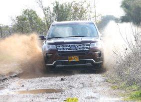 פורד אקספלורר במבחן דרכים – אמריקן קומפורט