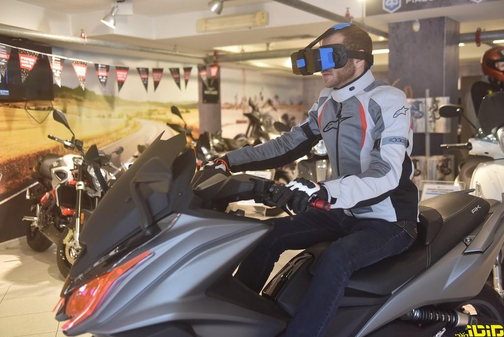 עופר אבניר: חויית רכיבה באמצעות טכנולוגיית VR
