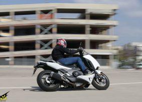 הונדה אינטגרה 750 במבחן דרכים