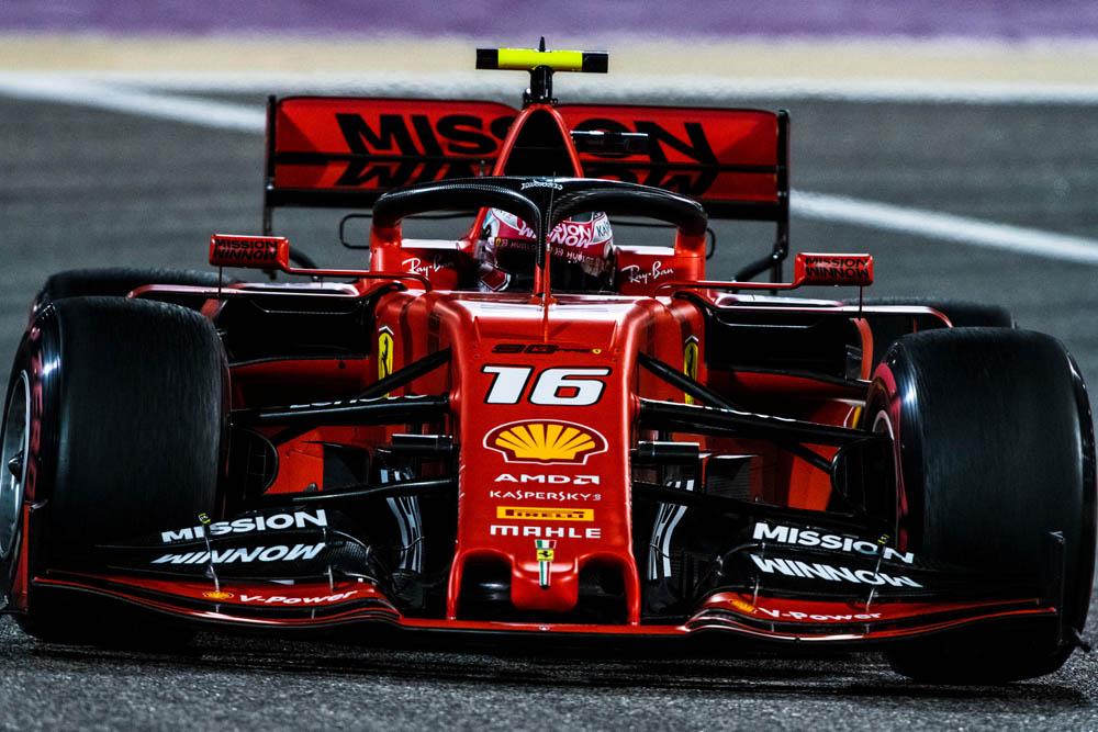F1 בחריין גריד, להקלר יזנק ראשון