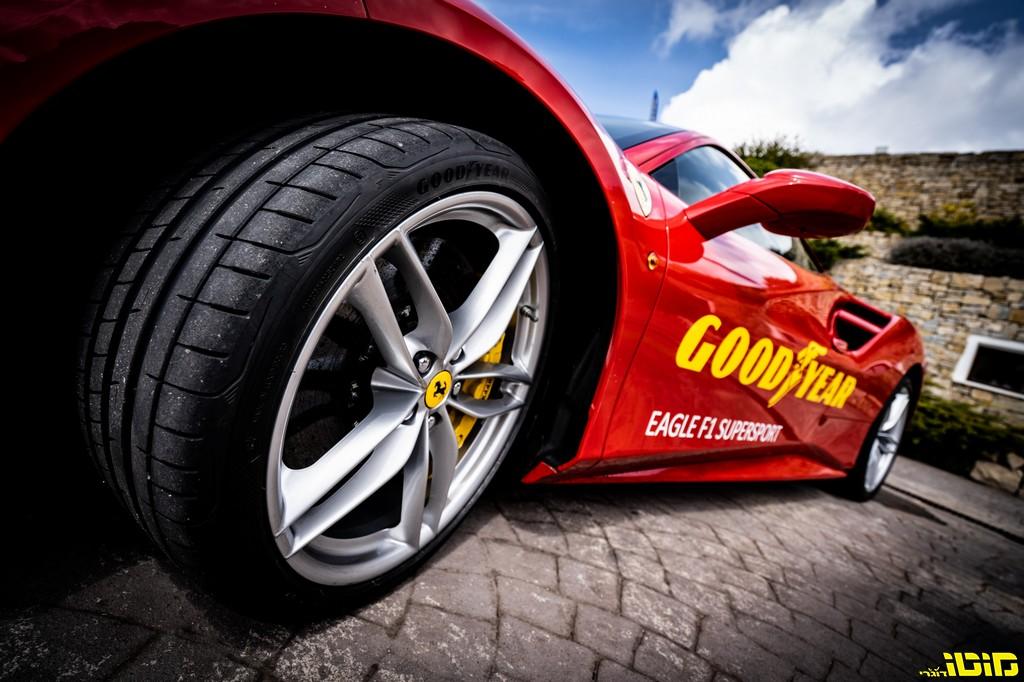 השקת משפחת צמיגי GOODYEAR F1 סופרספורט