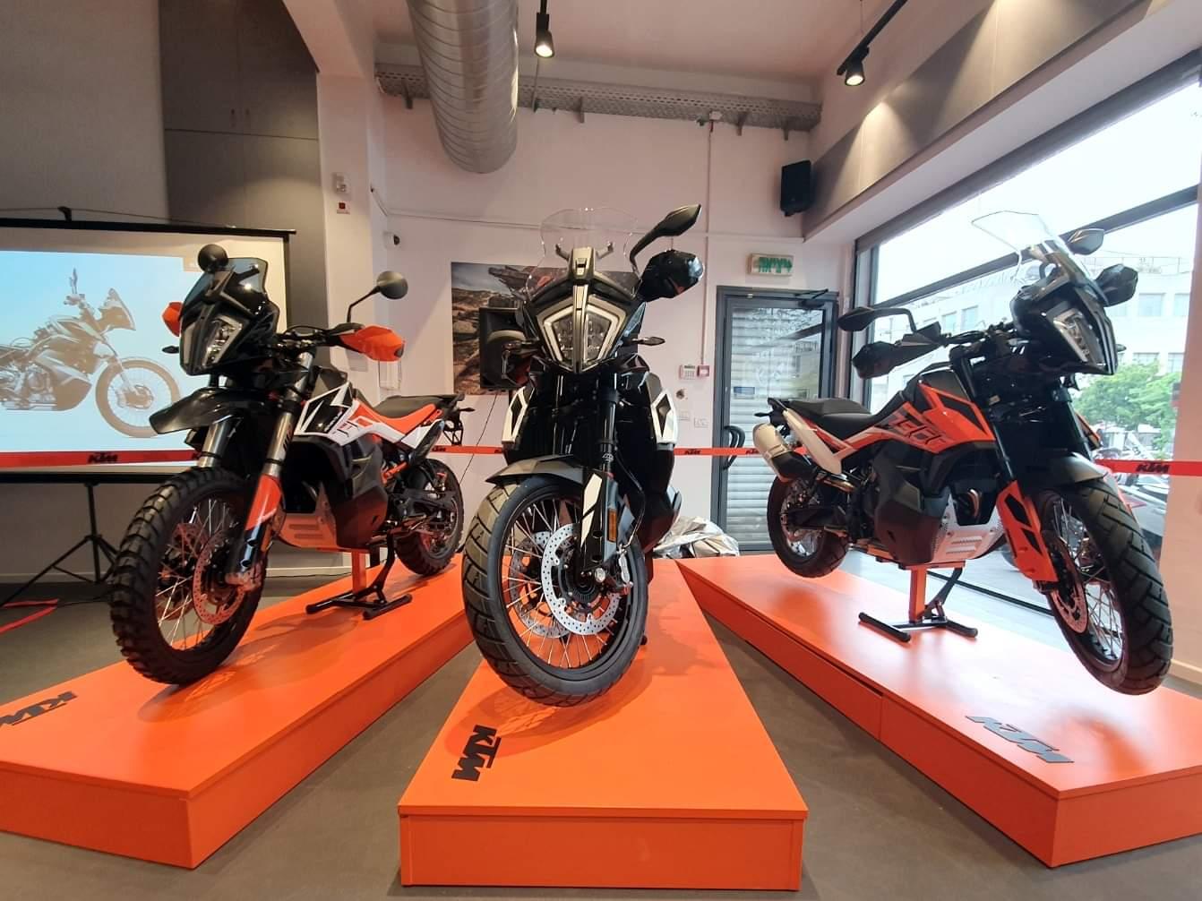 וידאו: השקת KTM אדוונצ'ר 790 בישראל